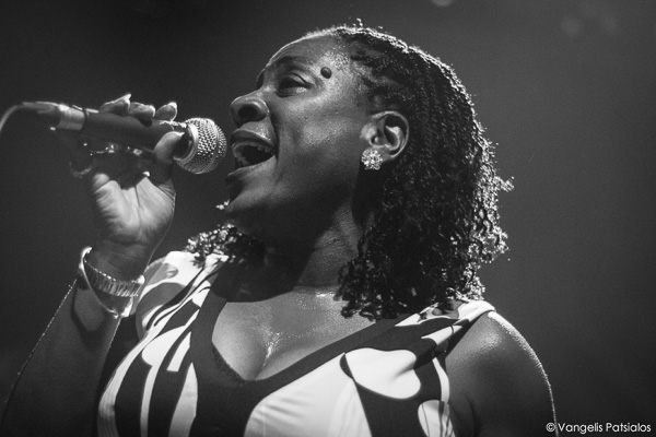 Sharon Jones & The Dap-Kings live at Gagarin 205